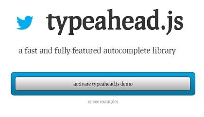 Typeahead.js: jQuery Autocomplete Plugin