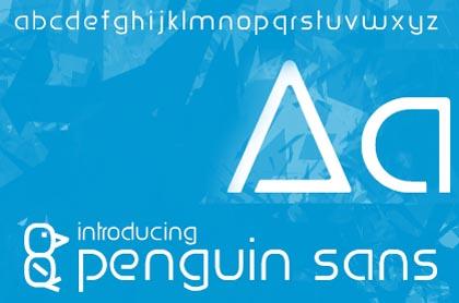 Penguin Sans freefonts - 01