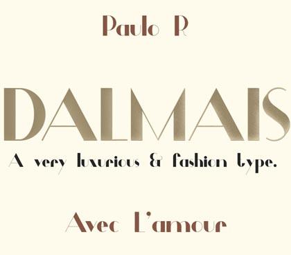 Dalmais freefonts - 02
