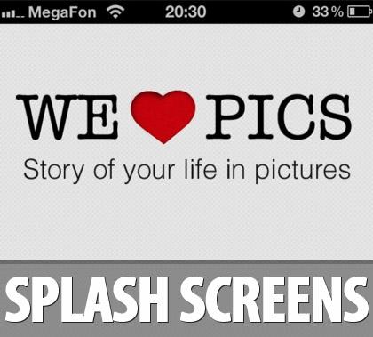iOS App Splash Screens