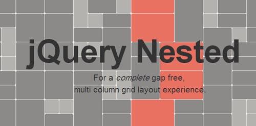 jQuery Nested: Gap Free Multicolumn Grid Layout