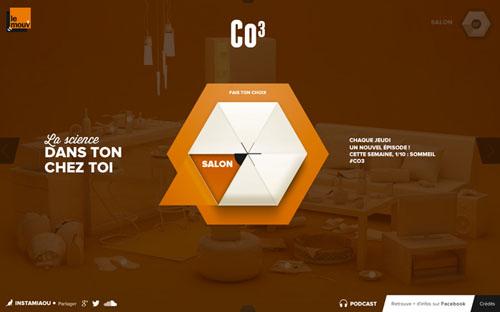 CO3 Corporate Website