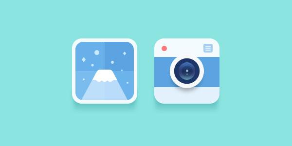 Beautiful Flat Icons Design-3