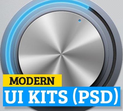 Modern Web UI and Mobile UI Kits for Designers
