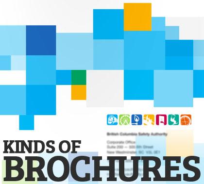 Kinds of brochures