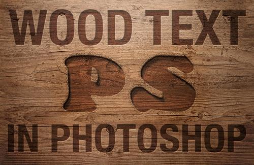 Text Effect Photoshop Tutorials - 11
