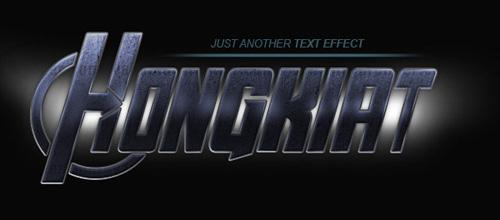 Text Effect Photoshop Tutorials - 7