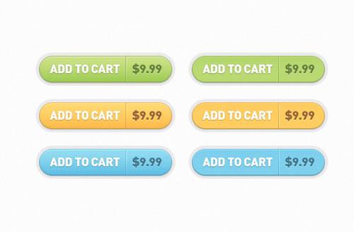 UI Design PSD Buttons-12