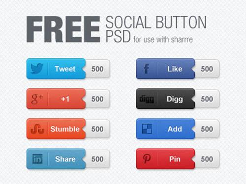 UI Design PSD Buttons-17