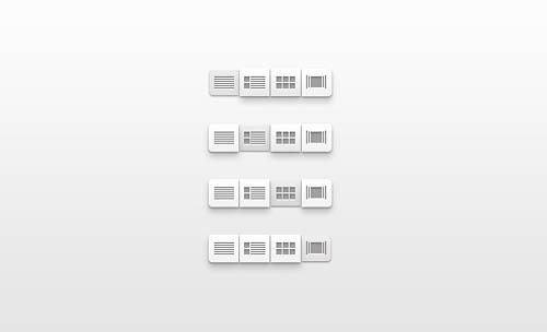 UI Design PSD Buttons-20