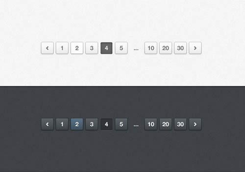 UI Design PSD Buttons-21