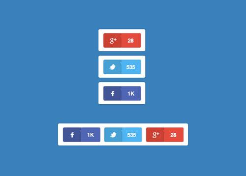 UI Design PSD Buttons-24