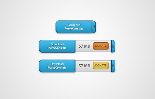 UI Design PSD Buttons-37