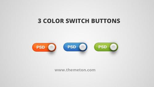 UI Design PSD Buttons-40