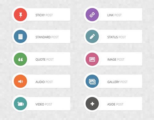 UI Design PSD Buttons-47