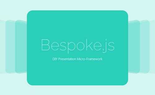 Bespoke.js: Lightweight Framework For Custom Presentations And Sliders