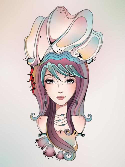Create a Conceptual Portrait in Adobe Illustrator