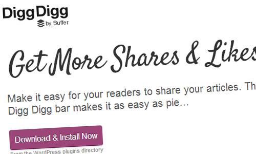Digg Digg wordpress plugin