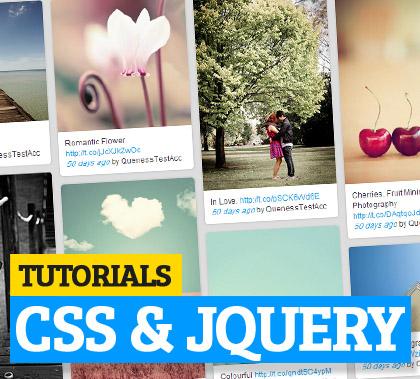 CSS jQuery Tutorials