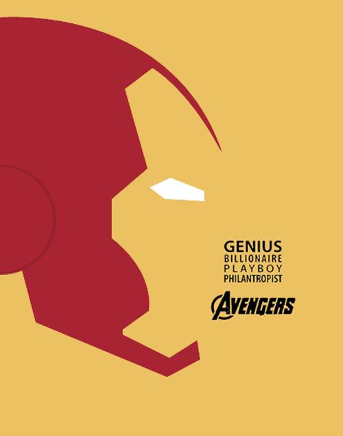 Avengers Series - Iron Man Minimalist Poster