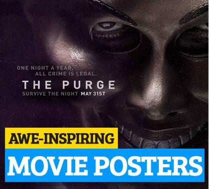 Awe-Inspiring Movie Poster Designs of 2013