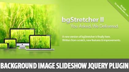 Background Image Slideshow jQuery Plugin: bgStretcher