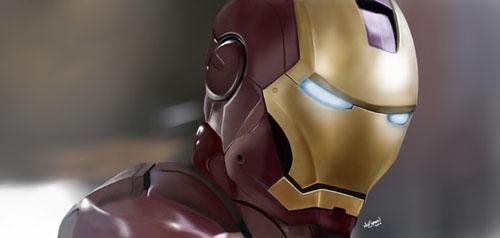 Digital Painting - Creating Iron Man