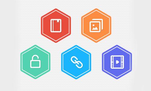 Flat Elements for Web UI Design-1