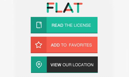 Flat Elements for Web UI Design-10