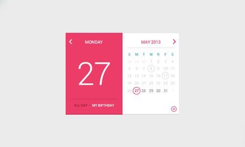 Flat Elements for Web UI Design-11
