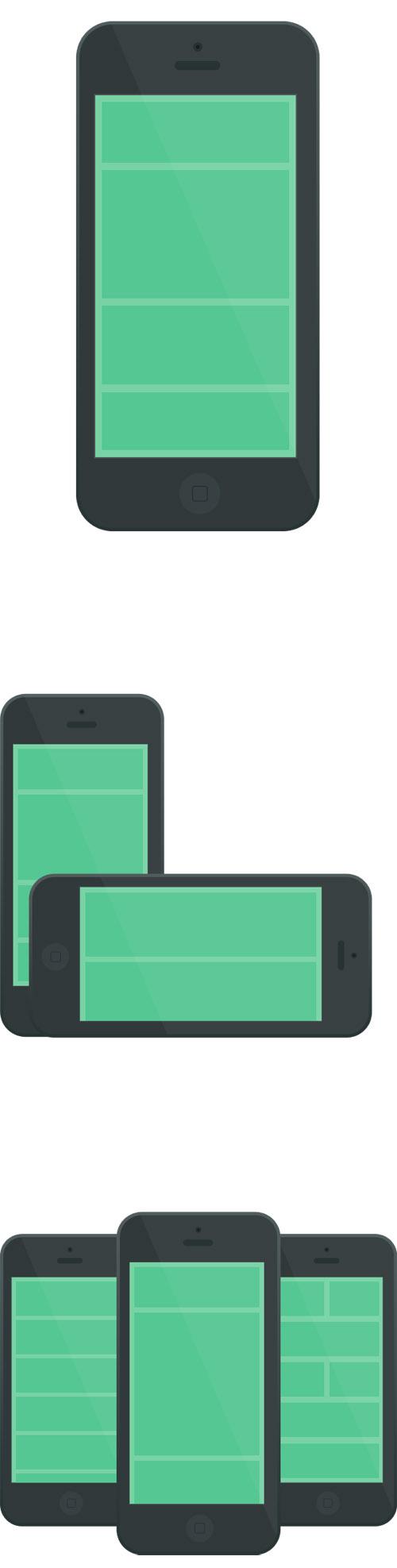 Flat Elements for Web UI Design-33