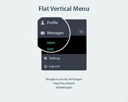 Flat Elements for Web UI Design-36