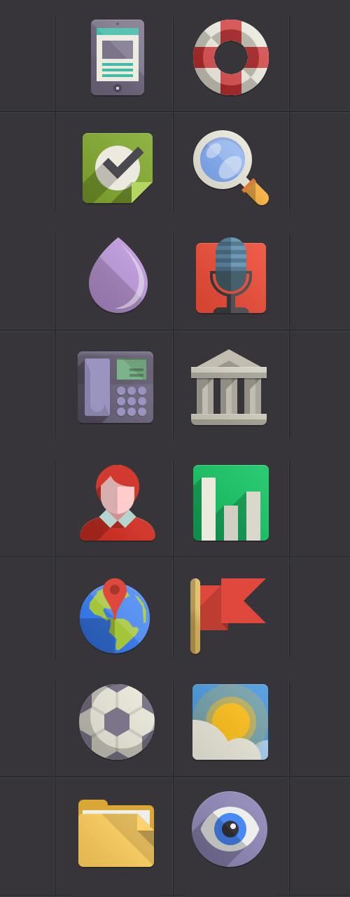 Flat Elements for Web UI Design-42