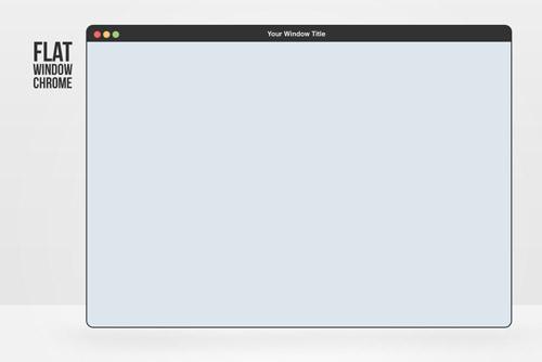 Flat Elements for Web UI Design-55