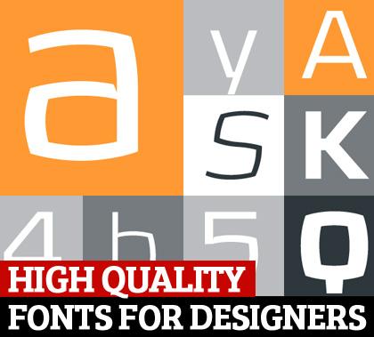 Fonts for Desigenrs