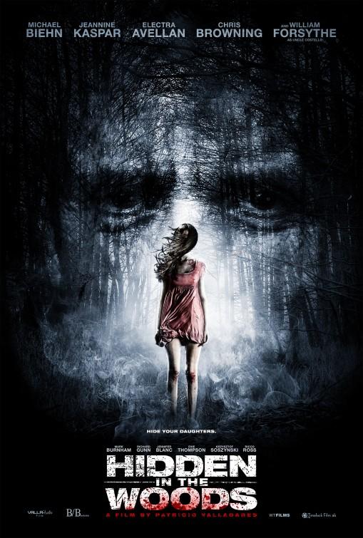 Hidden in the Woods Movie Poster