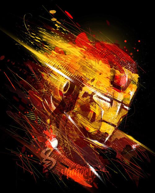 Iron Man - Digital Art