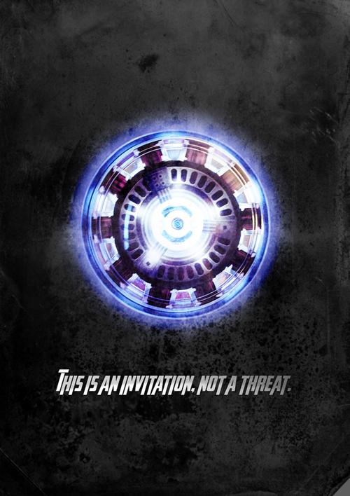 Iron Man Film Poster
