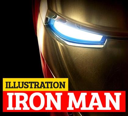 Iron Man Illustrations