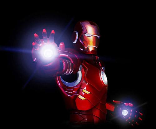 Iron Man bust sculpt