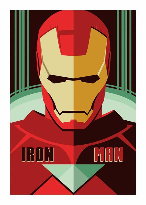 Iron Man Digital Poster