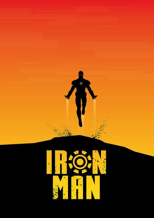 Iron Man Minimalist Poster