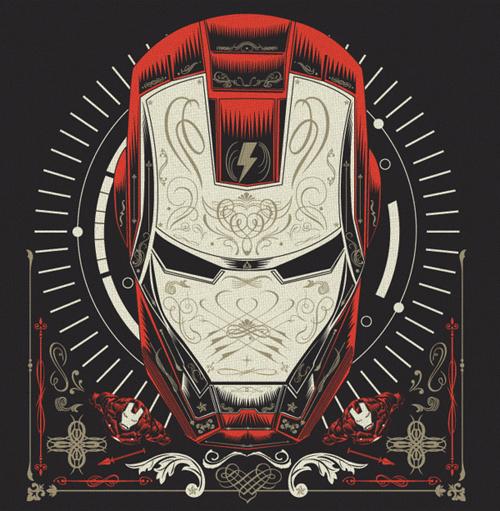 Iron Man T-shirt design