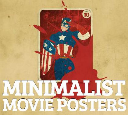 Minimal Posters of Movies