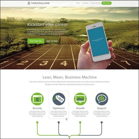 Business Website PSD Templates-1