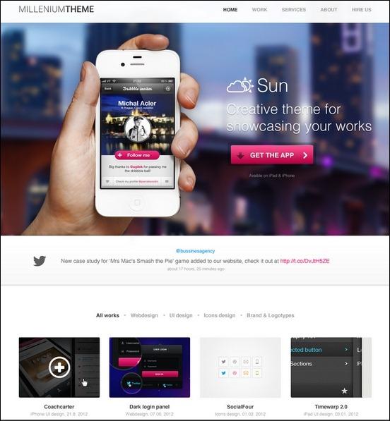 Business Website PSD Templates-10