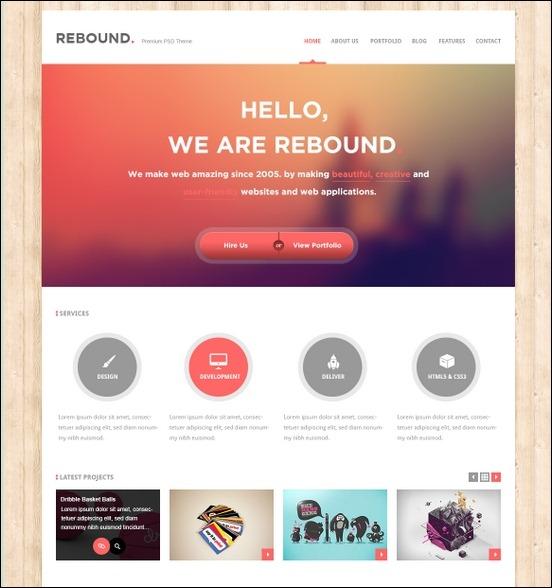 Business Website PSD Templates-12