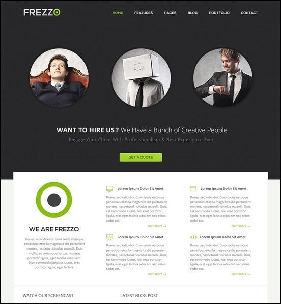 Business Website PSD Templates-13