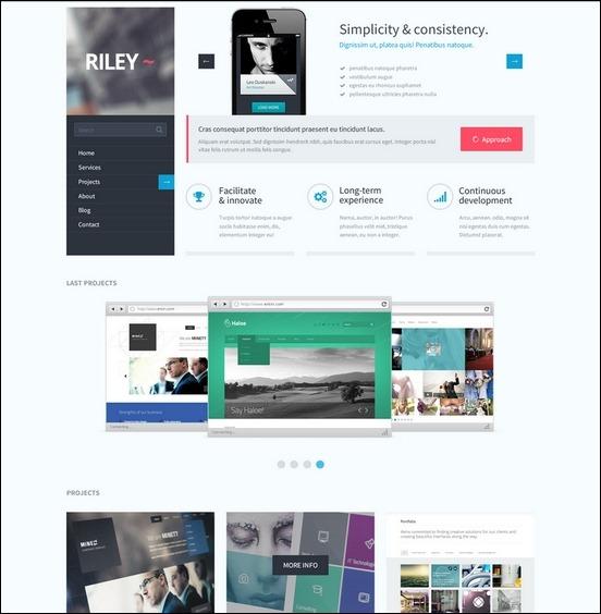 Business Website PSD Templates-15