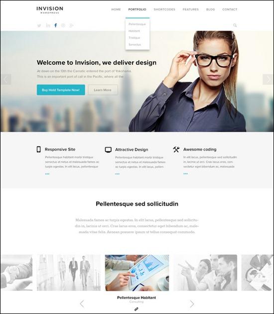 Business Website PSD Templates-16